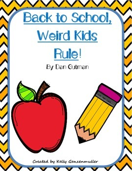 Back to School, Weird Kids Rule! Comprehension novel companion