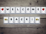 Back to School Welcome Back Classroom Banner