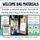 Back to School ~ Welcome Bag and Banner Project for the Fi