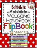 Personalized WELCOME FLIP BOOK for Students or Parents (no-cut and editable!)