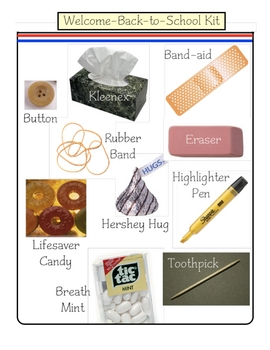 Back-to-School Welcome Kit Activity