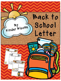 {FREEBIE} Back to School Welcome Letters