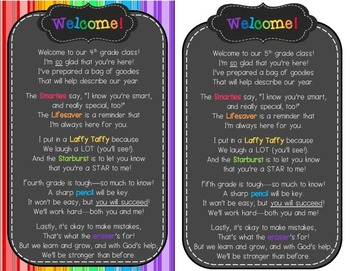 Back-to-School Welcome Poem