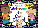 Back to School Welcome Postcards (Terrific Kid)