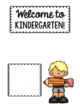 Back to School Welcome Sheet