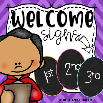 Welcome Signs | Back to School