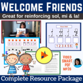 BACK to SCHOOL Welcome Song & Activity for Elementary Musi