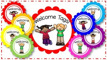 Back to School Welcome Tags