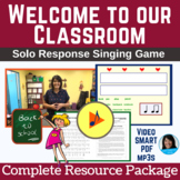 Back to School Song & Activity | Welcome Song | mp3s, PDF,