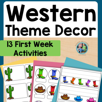 Back to School Western Theme Pack