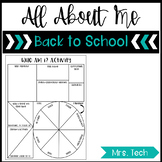 Back to School - Who Am I? Freebie