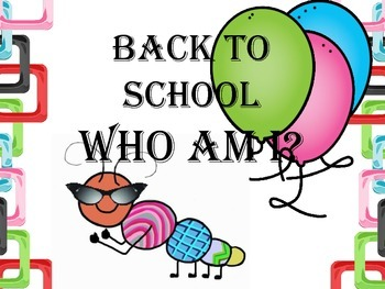 Back to School: Who am I?