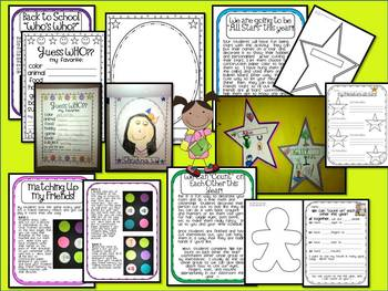 "Back to School ""Who's Who?"" and other FUN activities to START your School Year!"
