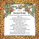 Back to School Wild About Second Grade Theme Activities