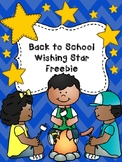 Back to School Treats - Wishing Stars - Freebie!