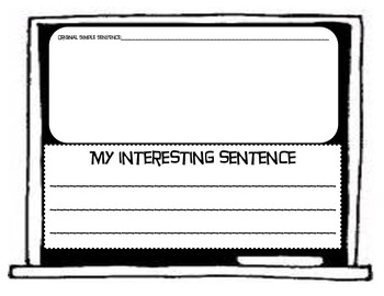 Back to School With Common Core Sentence Stretching