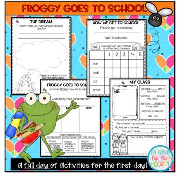 Crafts and Activities to Accompany Froggy Goes to School!