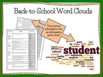 Word Cloud Generator- Wordle Activity