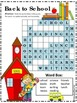 Back to School Word Search *Easy