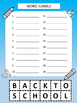 Back to School Word Search Pack Freebie