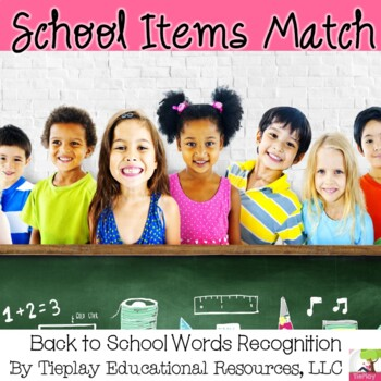 Back to School Match and Organize