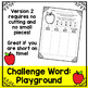 Back to School Word Work and Literacy Center Activity