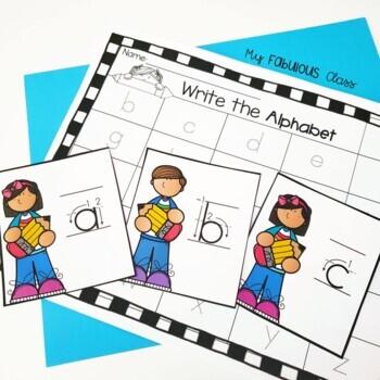 Back to School Word Work for Kindergarten