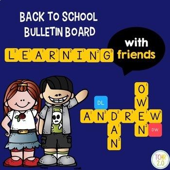 Learning With Friends Bulletin Board
