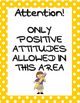Back to School Posters and Inspirational Quotes Handout