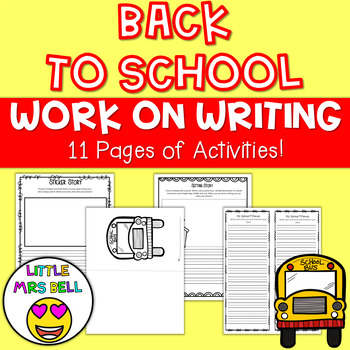 Work on Writing for Back to School