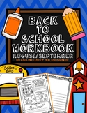 Back to School Workbook