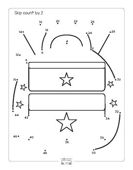Back to School Worksheets - Dot to Dot Skip Counting by 2 ...