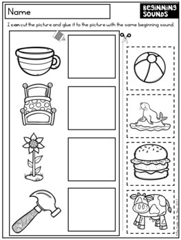 Back to School Worksheets Kindergarten FREEBIE