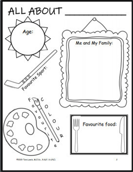 Back to School Worksheets and Activities