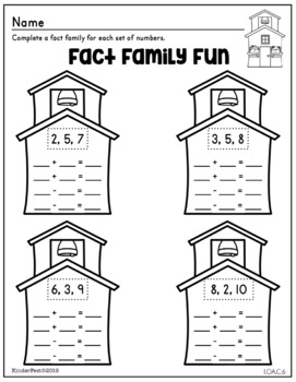 Back to School Worksheets for First Grade