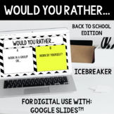 Back to School: Would You Rather