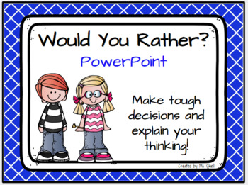 Would You Rather PowerPoint
