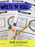 Back to School Write 'N' Roll
