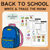 Back to School Write/Trace the Room