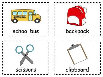 Back to School Write and Stamp the Room Activities
