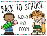 Back to School-Write the Room