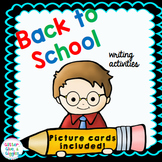 Back to School Write the Room {August/Septenber}
