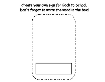 Back to School Write the Room- Includes 3 levels of answer sheets
