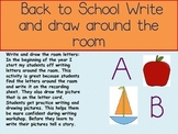 Back to School Write the Room Letters!