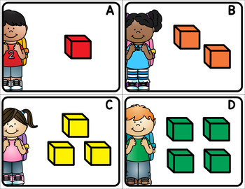 Back to School Write the Room Numbers 1-20
