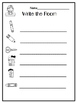 Back to School Write the Room for Kinders Editable