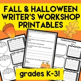 FALL Writer's Workshop Writing Templates! 6 Traits of Writ
