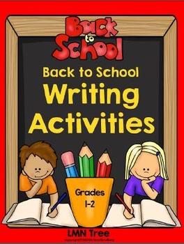 Back to School Writing Activities