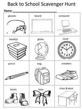 Back to School Writing Activities and Coloring Packet