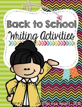 Back to School Writing Packets and Activites